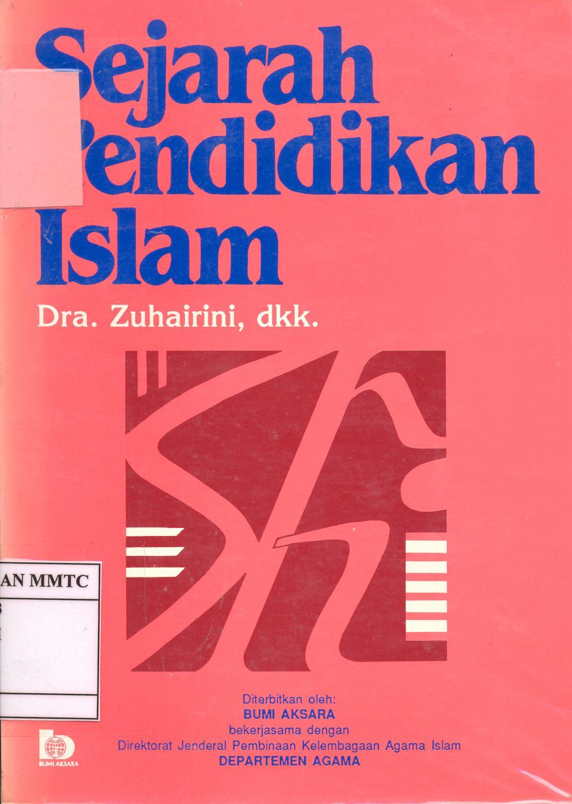 ISBN 979-526-086-3 Pengarang Zuhairini