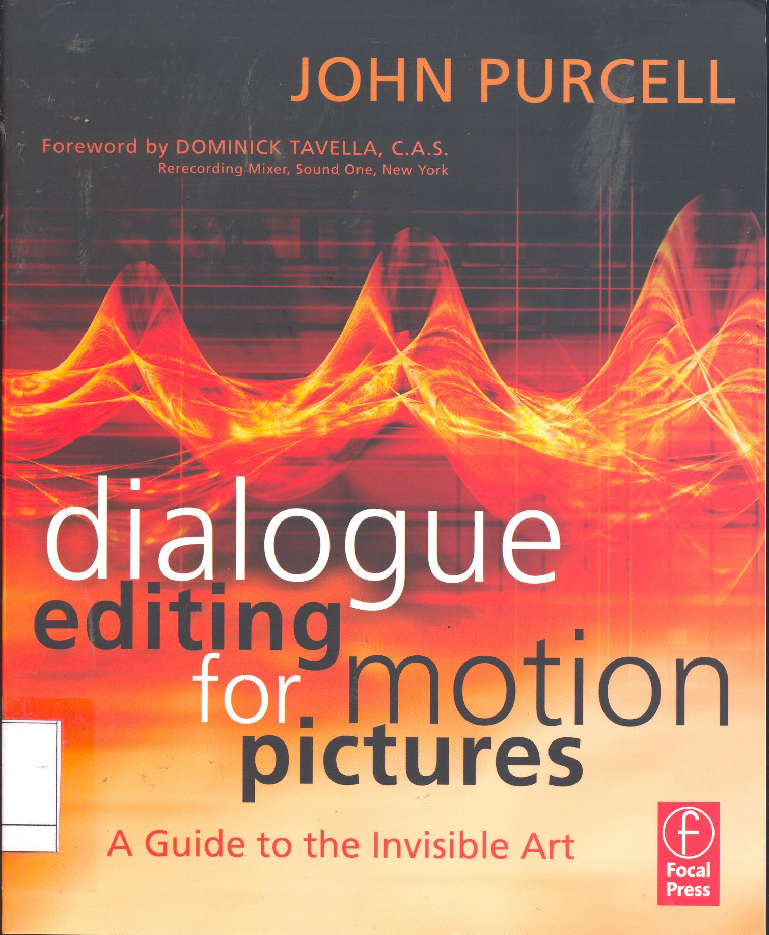 Dialog editing for motion pictures