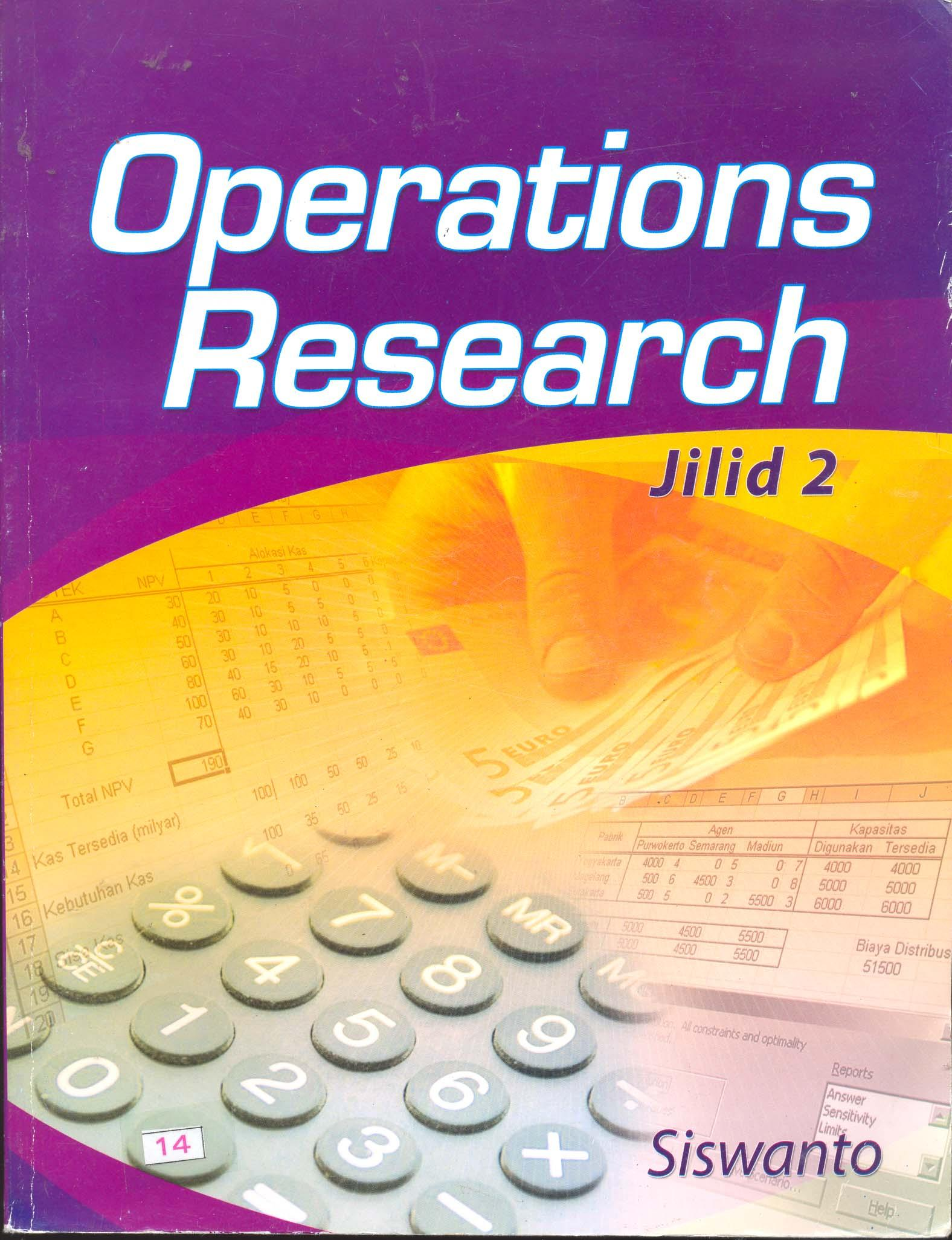 operation research Operation research approach helps in operation management operation management can be defined as the management of systems for providing goods or services, and is concerned with the design and operation of systems for the manufacture, transport, supply or service.