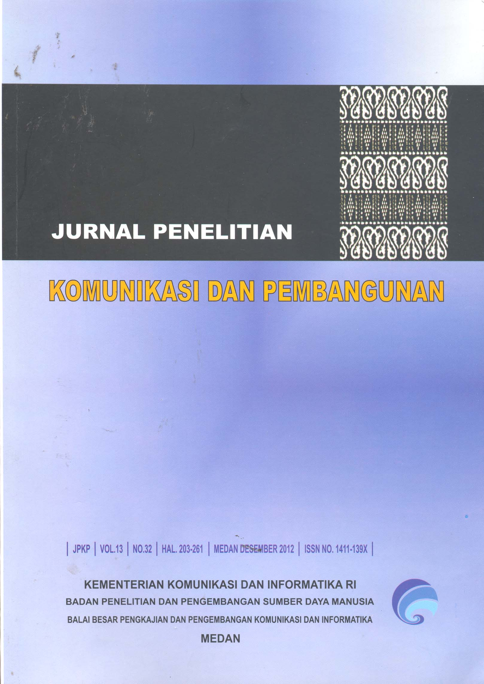 Jurnal Penelitian Komunikasi dan Pembangunan